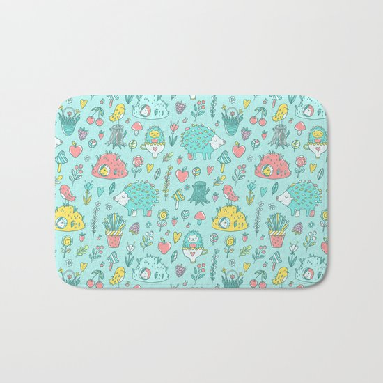 Hedgehogs Bath Mat