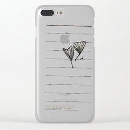 ok Clear iPhone Case