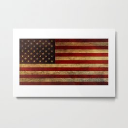 Star Spangled Banner. The Flag of the United States of America Metal Print