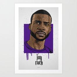 Jay Rock Art Print