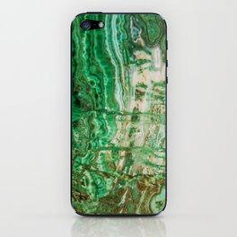 MINERAL BEAUTY - MALACHITE iPhone Skin