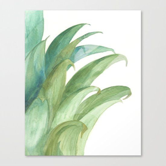 Botanical vibes 03 Canvas Print