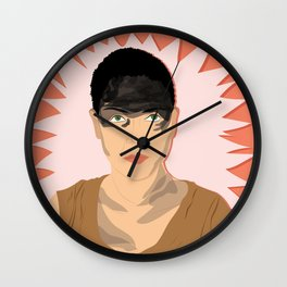 Furuisa (Red) | Bad Ass Women Series Wall Clock