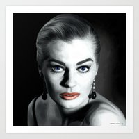 Anita Ekberg Large Size Portrait Art Print