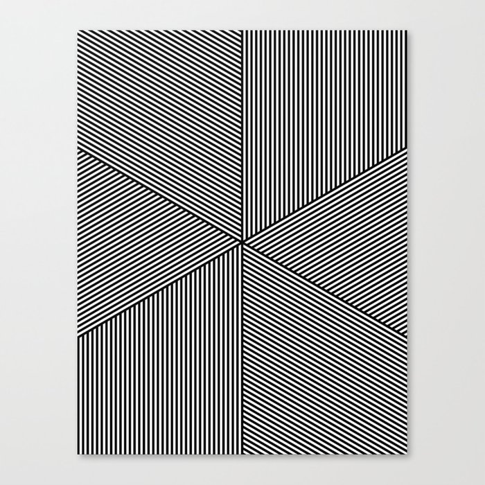 5050 No.11 Canvas Print