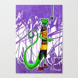 Geko Canvas Print