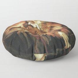 Mourning for Icarus - Draper Herbert James Floor Pillow