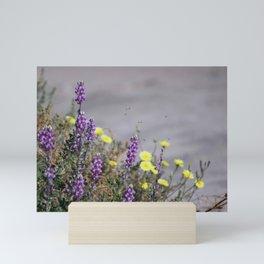 Arial Raid on Flowers Mini Art Print