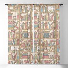 Bookshelf No. 1 Sheer Curtain
