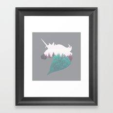 Dreamland Unicorn Framed Art Print