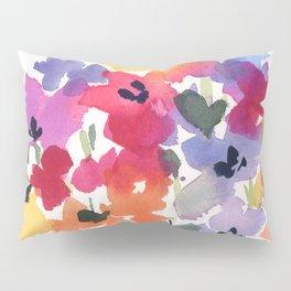 Bright Wildflower Field Pillow Sham