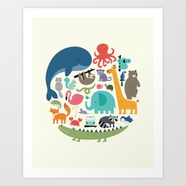 We Are One Art Print