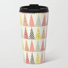 Whimsical Christmas Trees Travel Mug