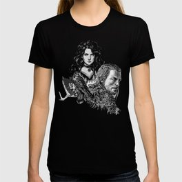 Geralt and Yennefer-Witcher T-Shirt