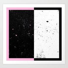 Duel Space Art Print
