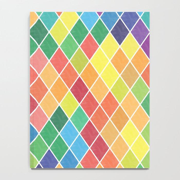 Watercolor Geometric Pattern II Notebook