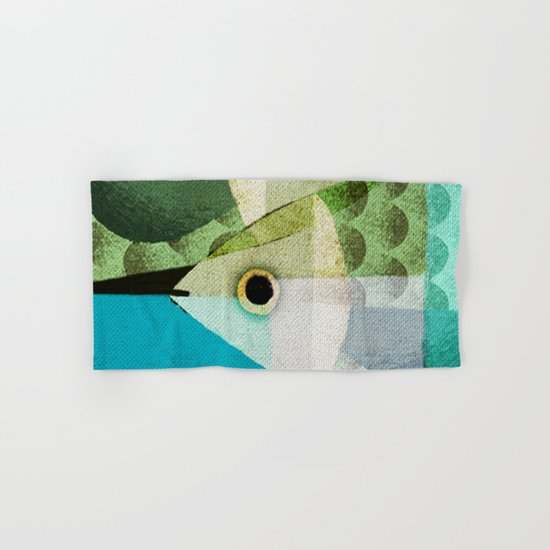 Fish Boxed Hand & Bath Towel