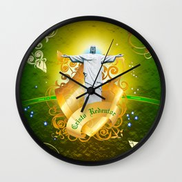 The Cristo Redentor Wall Clock
