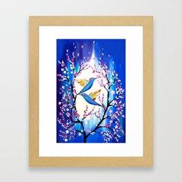 Cherry Blossom Saga Framed Art Print