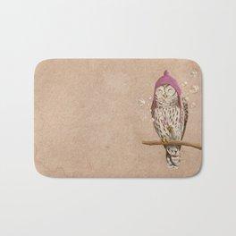 Happy Owl Bath Mat