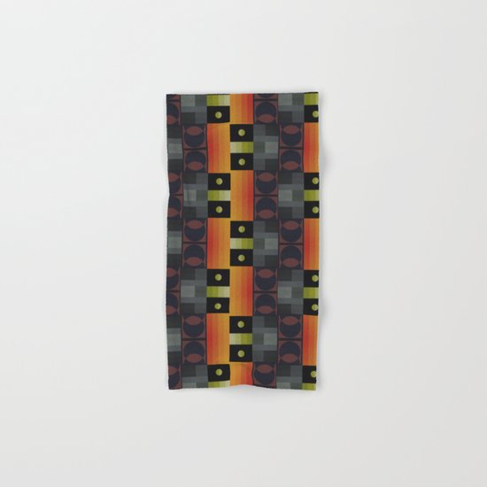 Abstract #186 Hand & Bath Towel