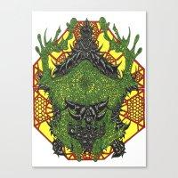 venom Canvas Prints featuring Venom by Bryan Yentz