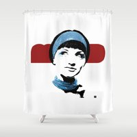 mod Shower Curtains featuring MOD by Matt Irving