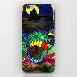 Draco, Dragon of the North iPhone Skin