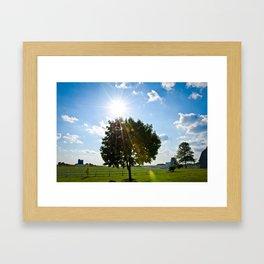 Treeset Framed Art Print