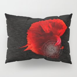 Diving in Red Pillow Sham