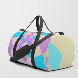 Mandal color wheel Duffle Bag