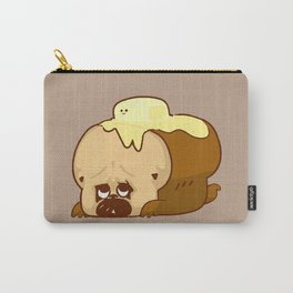 Pug Bread and Mr. Butter Carry-All Pouch