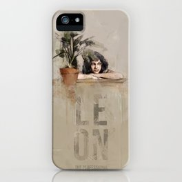 Mathilda (Leon:The Professional) iPhone Case