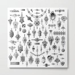 Jewels and Trinkets Metal Print