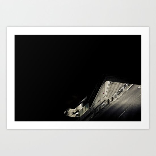 Navigated Light Art Print