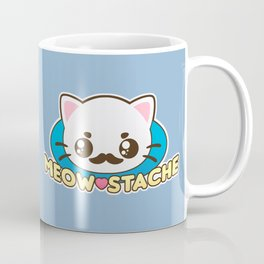 Meow-Stache Coffee Mug
