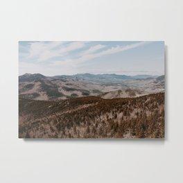 New Hampshire White Mountains Metal Print