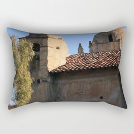 Carmel Mission Basilica Rectangular Pillow