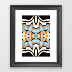 Butterfly series. Framed Art Print