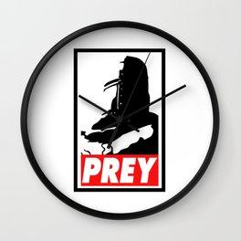 Prey - Praise The Sun Wall Clock
