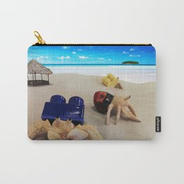 Crabs in the Sand Carry-All Pouch