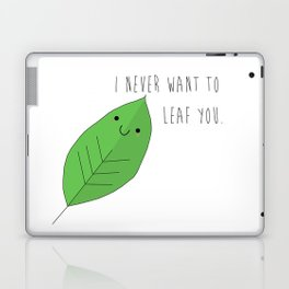 Funny Thing Called Love Collection - Leaf Laptop & iPad Skin
