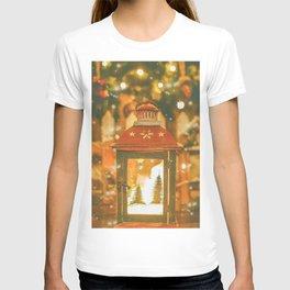 Christmas Lantern. T-shirt
