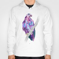 eagle Hoodies featuring Eagle by Jonathan Vizcuna