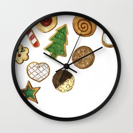 Christmas cookies Wall Clock
