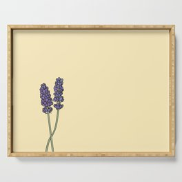 Gemini Lavender  Serving Tray