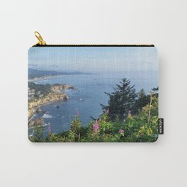 Otter Rock, Oregon from Cape Foulweather Vantage Point Carry-All Pouch