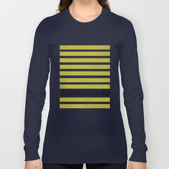 STRIPES AND ARROWS Long Sleeve T-shirt