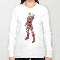 ironman Long Sleeve T-shirts featuring Ironman by PlayWithFireDieInIce