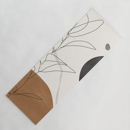 Abstract Art /Minimal Plant Yoga Mat